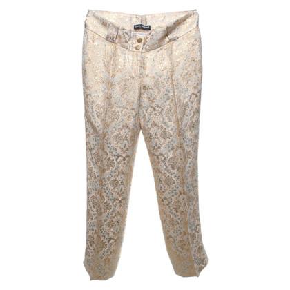 Dolce & Gabbana Pantalon avec motif