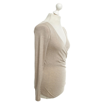 Max Mara Jersey-top in Beige