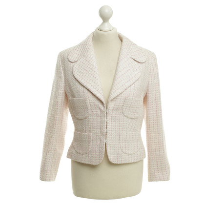 Escada Boucle blazer in pastel colors