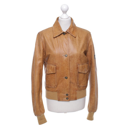 Belstaff Leather jacket in light brown