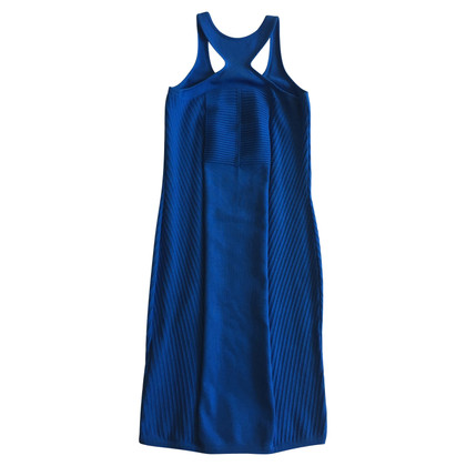 Versace Robe tricotée en bleu