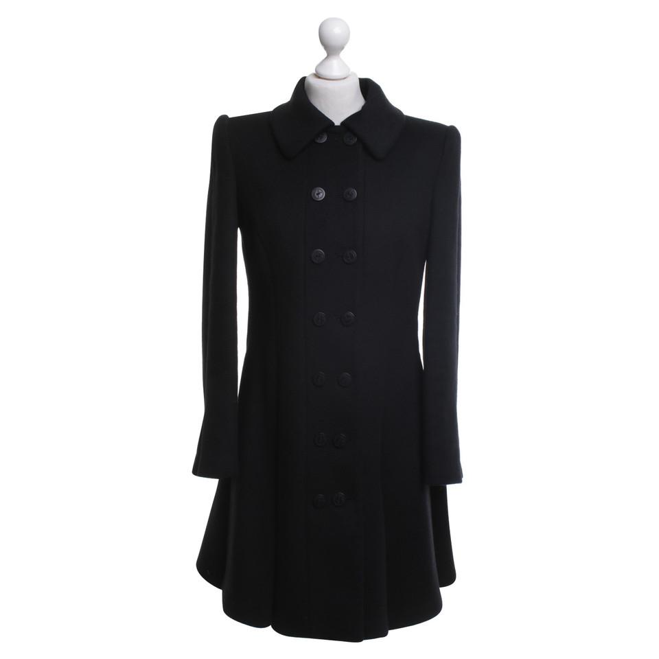 giorgio armani mantel in schwarz second hand giorgio armani mantel in schwarz gebraucht kaufen. Black Bedroom Furniture Sets. Home Design Ideas