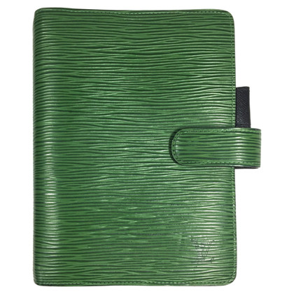 "Louis Vuitton ""Agenda Fonctionnel MM EPI' in green"