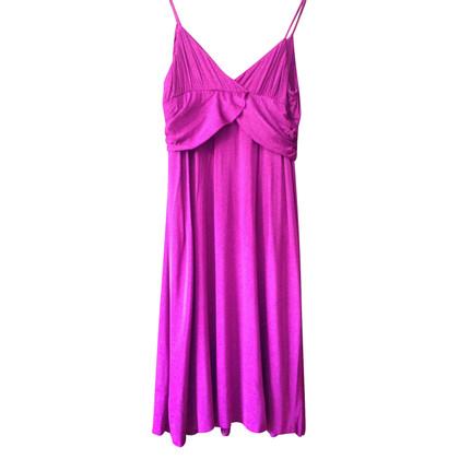 Velvet pinafore dress
