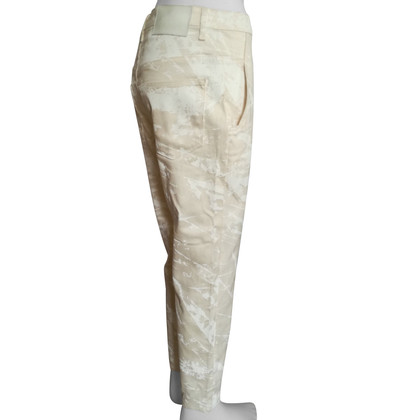 Helmut Lang trousers in white / beige