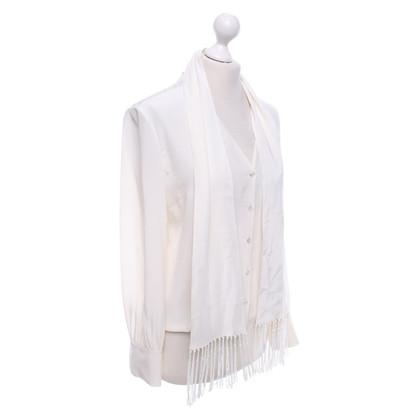 Rena Lange Bluse mit Schal