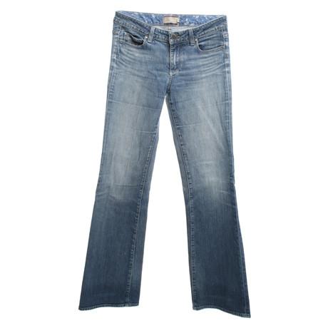 Jeans mit Paige Paige Jeans Blau Waschung Jeans qSwE1Ox