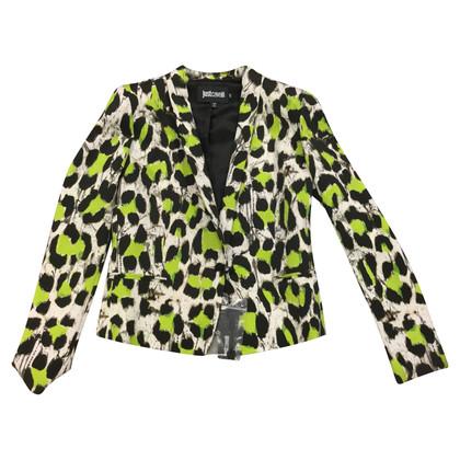 Just Cavalli giacca Leopard