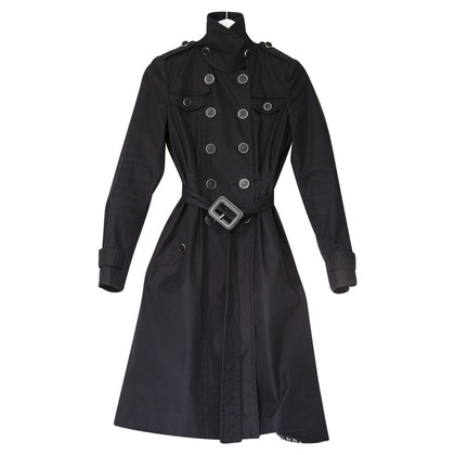 Gucci zwart Trenchcoat