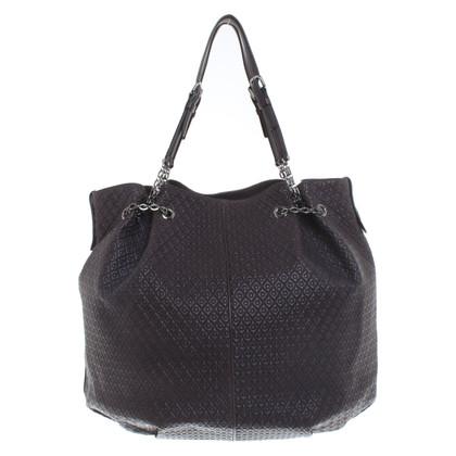 Tod's Eggplant colored handbag