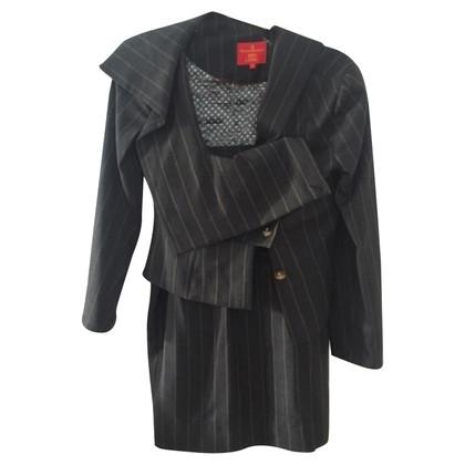 Vivienne Westwood Krijtstreep kostuum