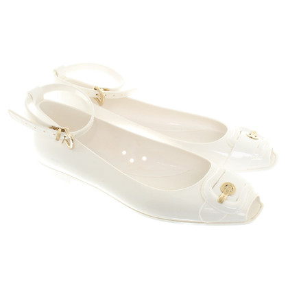 Fendi Ballerina's in White