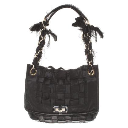 Lanvin Handtasche in Schwarz