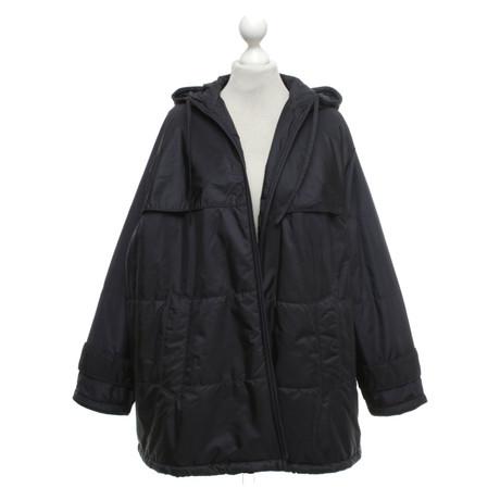 Prada Mantel Mantel in Blau in Prada Dunkelblau 4qxx1dHw0