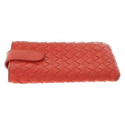 Bottega Veneta Cas de téléphone en rouge