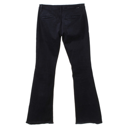 Mother Bootcut jeans in donkerblauw