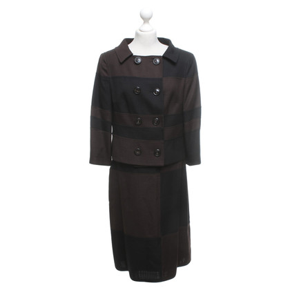 Escada Costume in zwart / Brown