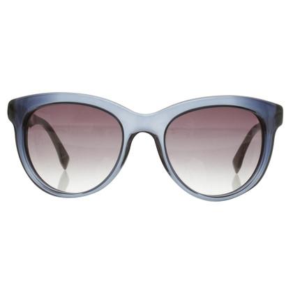 Fendi Sonnenbrille in Blau/Beige
