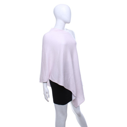Repeat Cashmere Poncho in pink