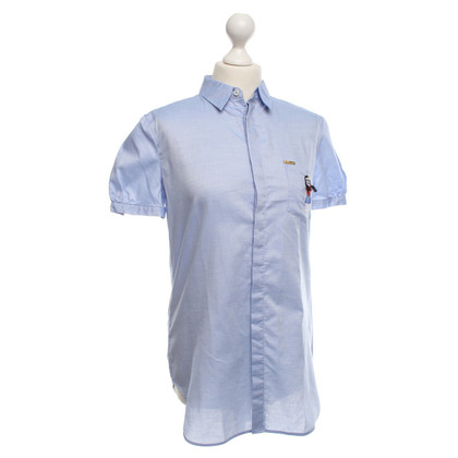 Dsquared2 Bluse in Hellblau