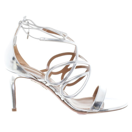 Aquazzura Sandals in silver