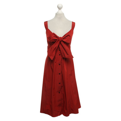 Burberry Rotes Sommerkleid