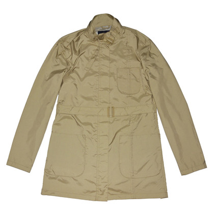 Armani Jeans Beige Coat with Belt