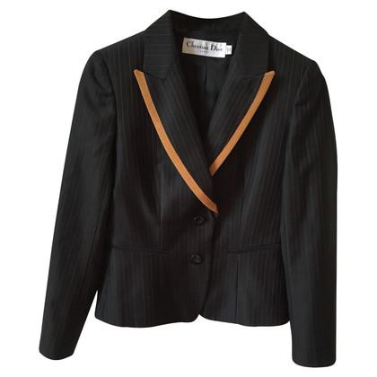 Christian Dior giacca nera