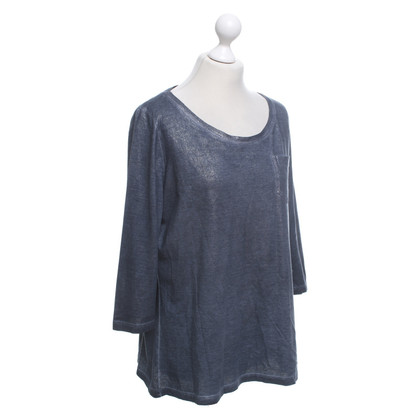 Marc Cain top in blue / silver