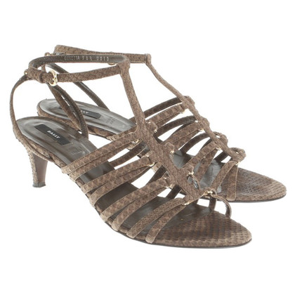 Bally Sandals made of reptile leather