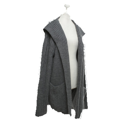Camouflage Couture Cardigan in grey