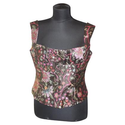 Rena Lange Corset with floral pattern