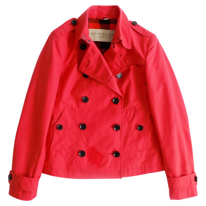 Burberry Giacca a doppio petto in rosso chiaro
