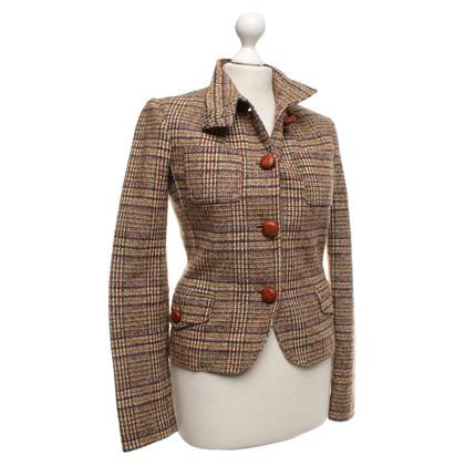 Patrizia Pepe Multicolore giacca di tweed
