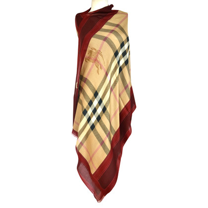 Burberry Wool scarf cashmere/silk