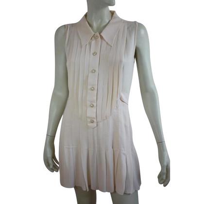 Chanel Elfenbeinfarbenes Tunika-Kleid