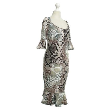 Andere merken Just Cavalli - jurk met dierlijke ontwerp