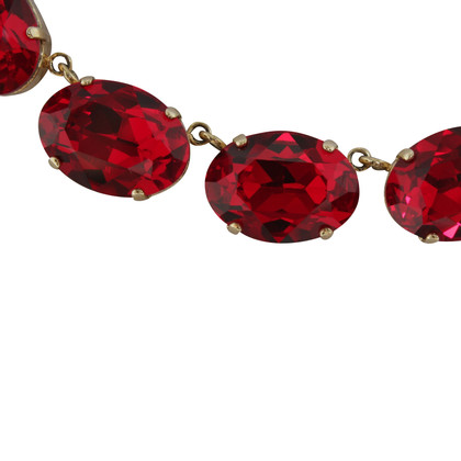 Dolce & Gabbana Necklace with dark red stones