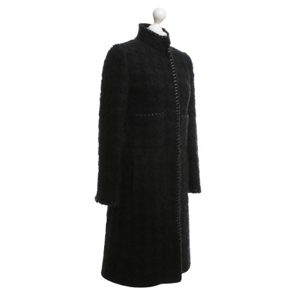 Oscar de la Renta Coat in black