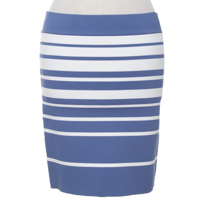 BCBG Max Azria skirt with stripe pattern