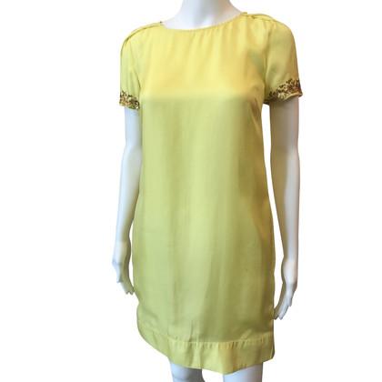 Patrizia Pepe Gelbes Kleid