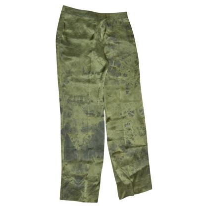 Alexander McQueen pantaloni seta