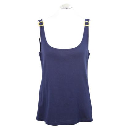 Ralph Lauren top in dark blue