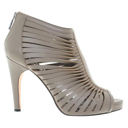 Karen Millen Platform Sandals in Beige