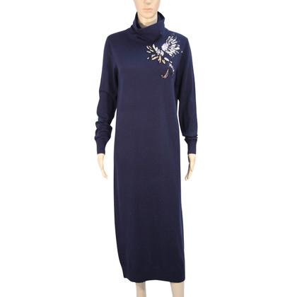 Markus Lupfer Wollen jurk in donkerblauw