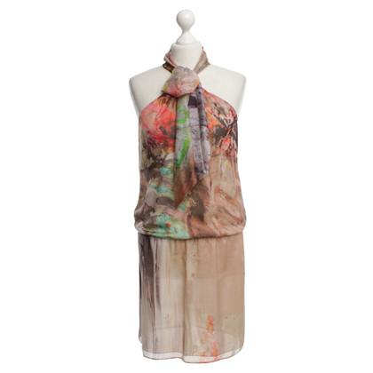 Patrizia Pepe Kleid mit Schlaufendetail
