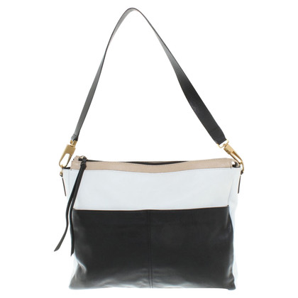 Coccinelle Handbag in black / white