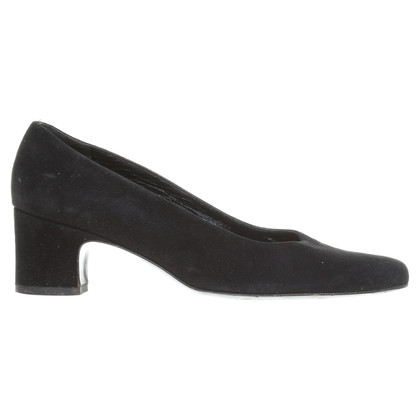 Bally Suede leather pumps in black