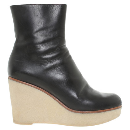 Jil Sander Ankle boots with wedge heel