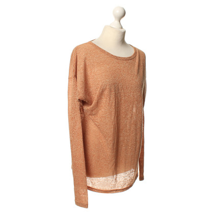 Isabel Marant Etoile Lang shirt in donkeroranje